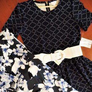 LULAROE OUTFIT! AMELIA DRESS & CAROLINE CARDIGAN &